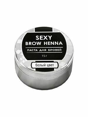 sexy brow henna pasta